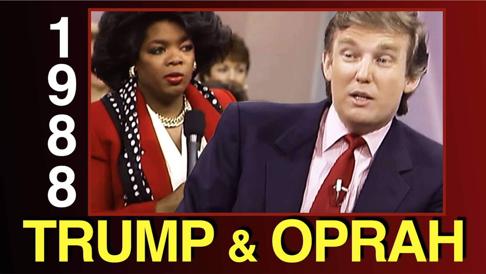 Oprah Interviews Donald Trump in 1988